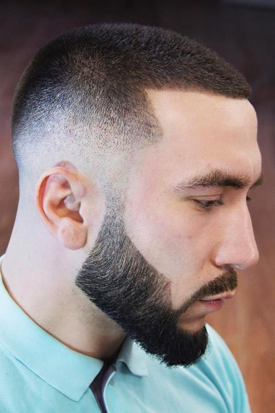 Buzz Cut-buzz cut men-brush cut-buzz haircut-buzz cut with beard-buzz cut hairstyles-buzz cut haircuts #menshair #menshaircuts