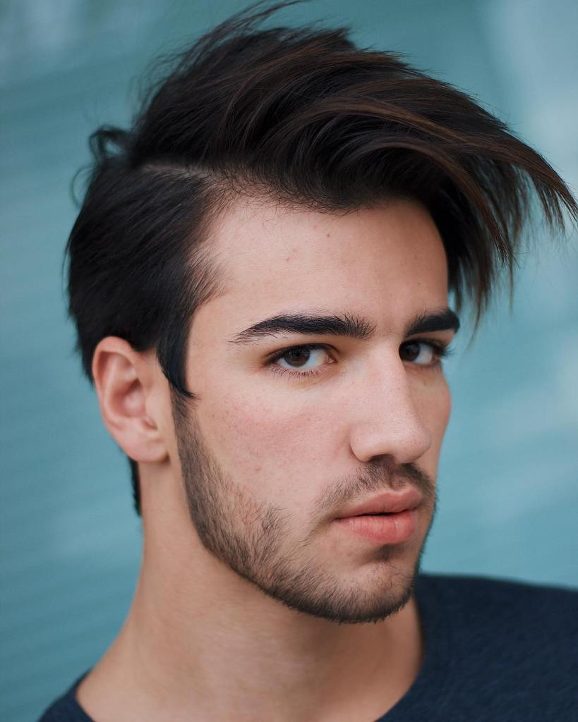 Side Part Hairstyles-medium hairstyles for men 2020