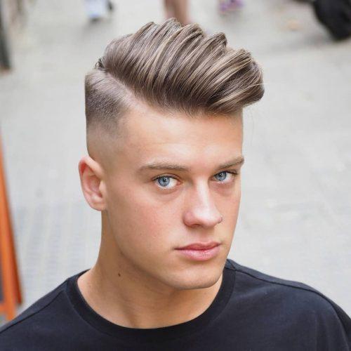 Top Side Haircut -Fade haircuts for men-men's fade haircuts-men's haircuts #menshair #menshaircuts