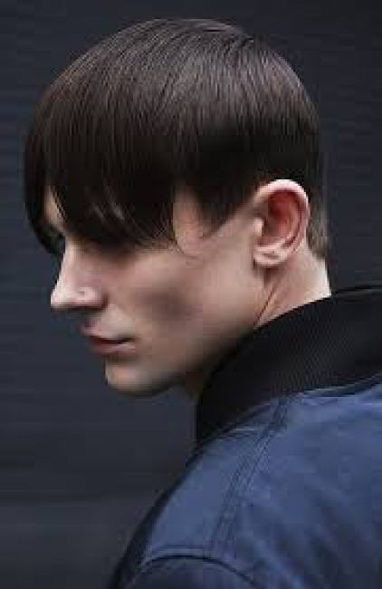 Short Haircut with Extended Bangs