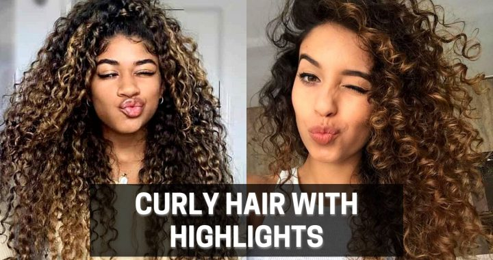 Curly hair with highlights: 10 photos of those who got it right when making