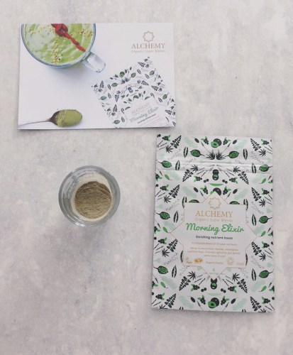 Morning Elixir by Alchemy Organic Superblends