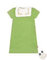 green girls dress