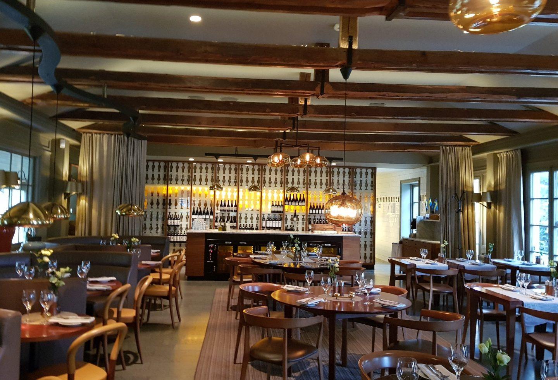 hotel restaurant at Stallmästaregården Hotel,