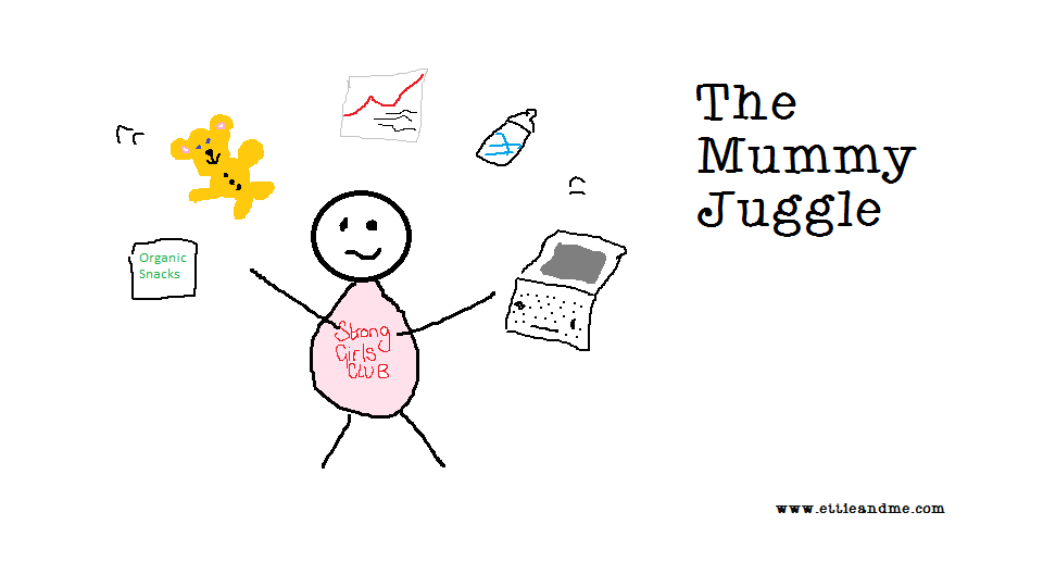 The Mummy Juggle | Jo from Weaningful.com