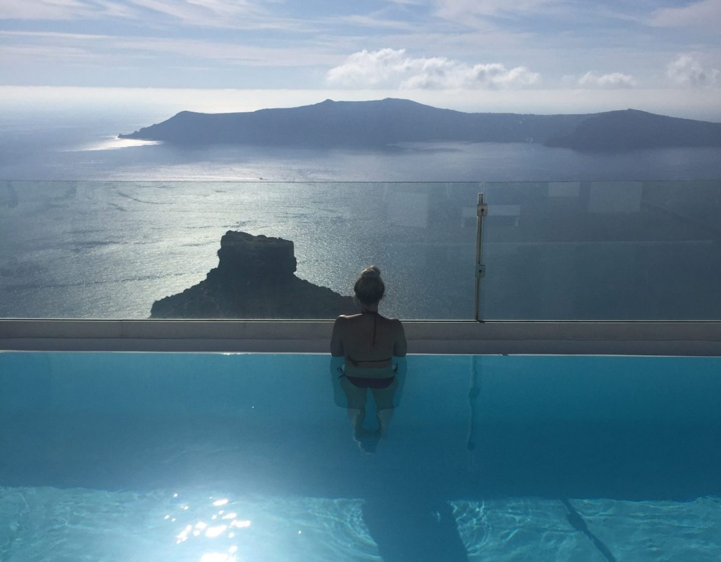 Babymoon complete guide to Santorini