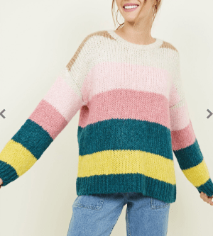 Striped Chunky Knit