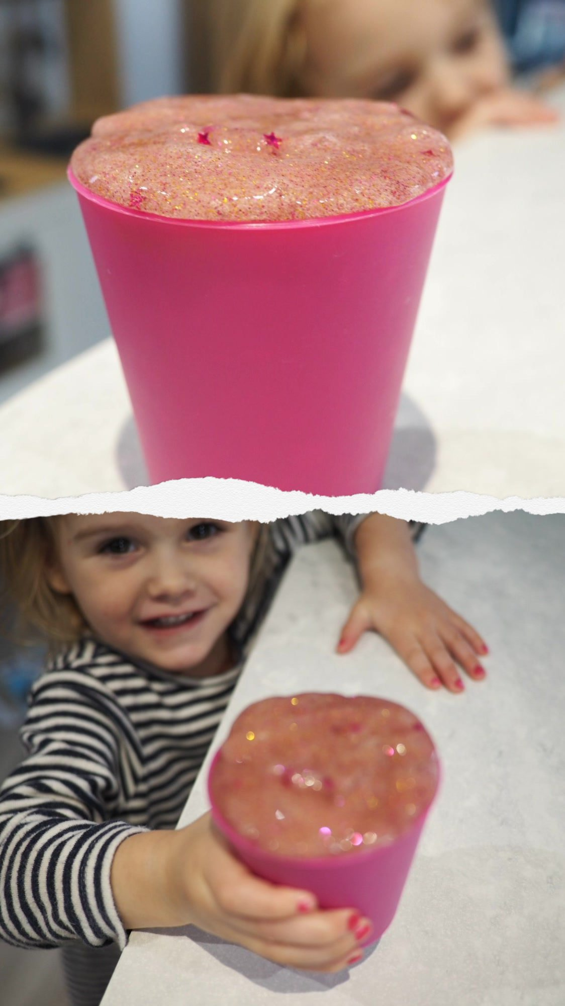 Making Slime with a toddler| Wet weather activities | Ettie and Me