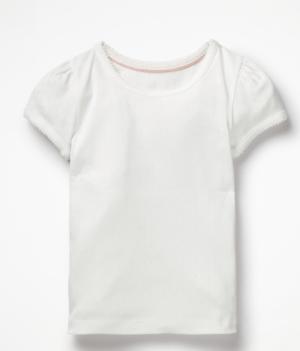 White Poitnelle T-Shirt
