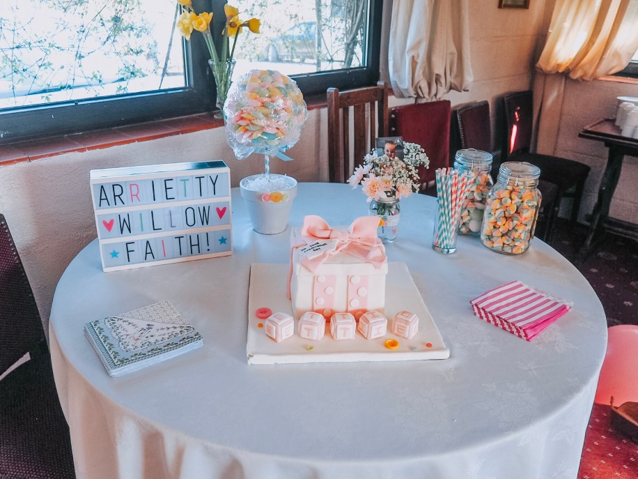 A pastel themed baby girls christening   The Halcyon Years