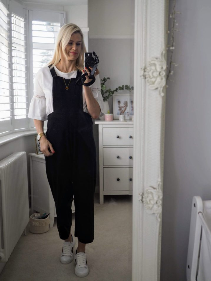 white-trainers-dungarees