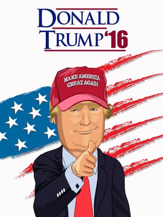 president donald trump 2016 election poster