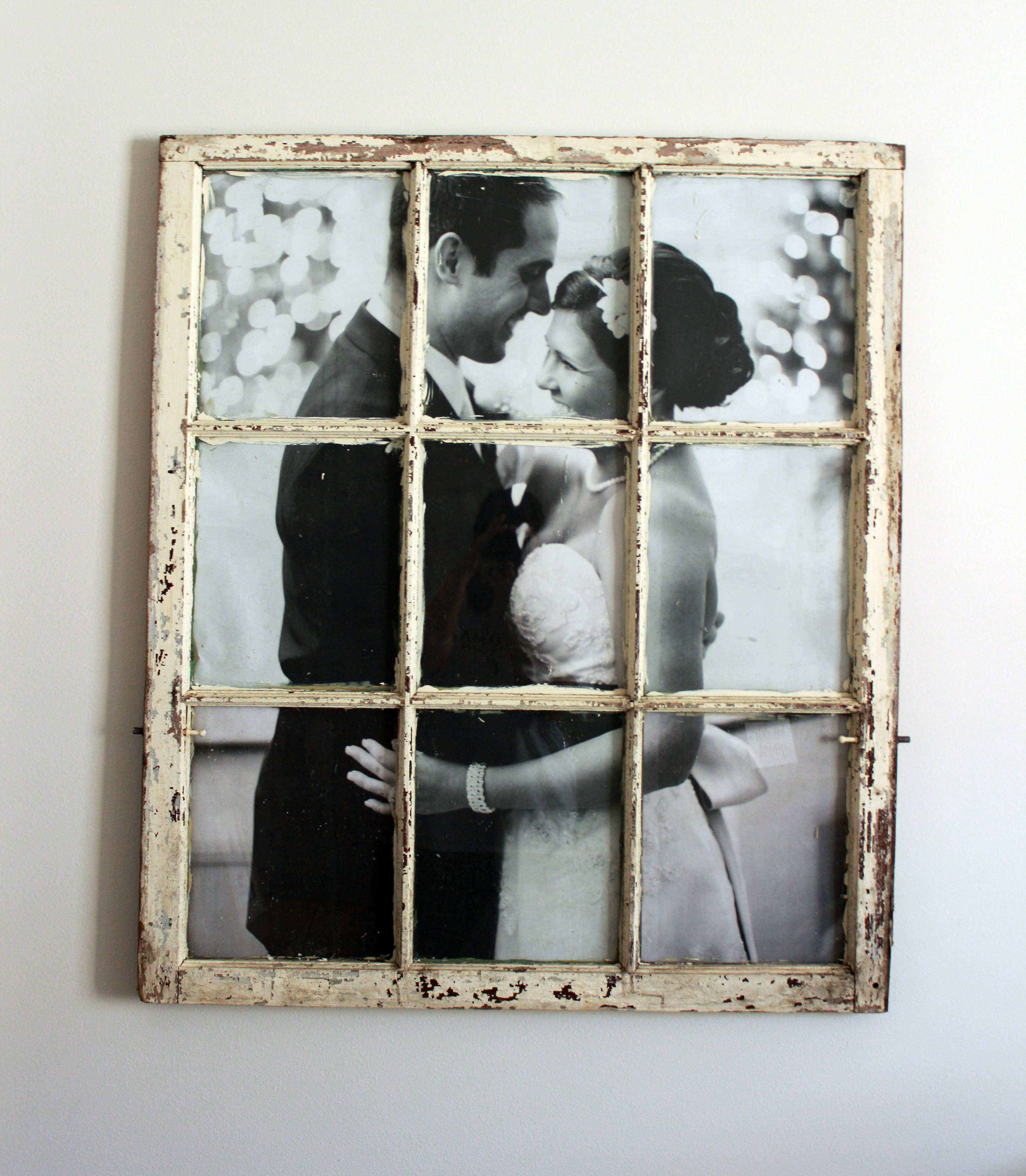 DIY Wedding Window - The Hamby Home