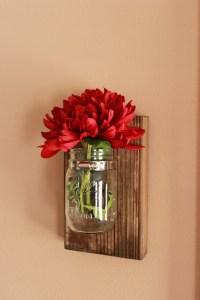 DIY Mason Jar Wall Decor - The Hamby Home