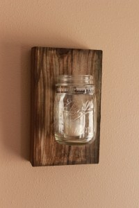 Diy Mason Jar Wall Decor The Hamby Home