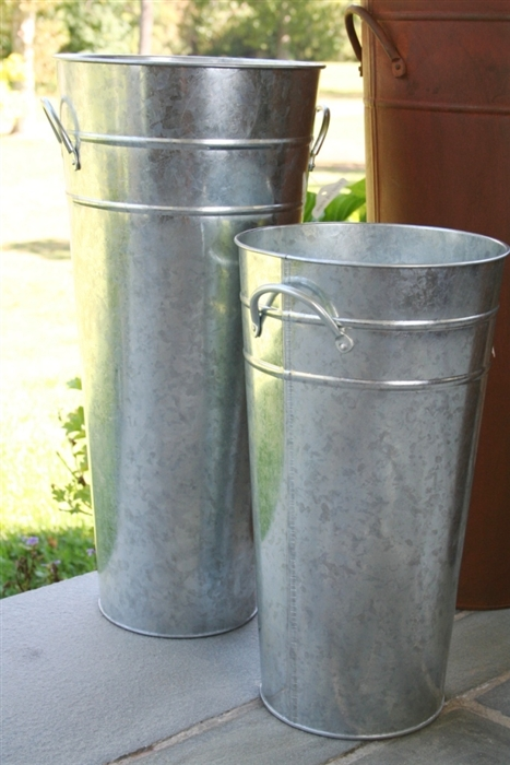 Diy Shipping Tube To Galvanized Vase The Hamby Home