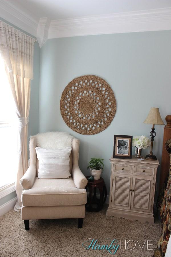 Seagrass Wall Art Idea - Hamby Home
