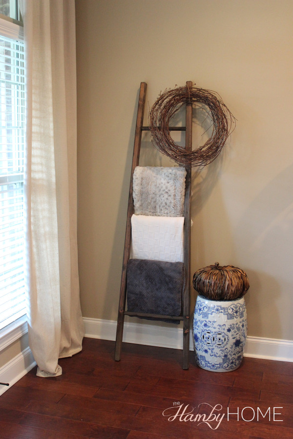 Things I Love Thursday Blanket Ladder The Hamby Home