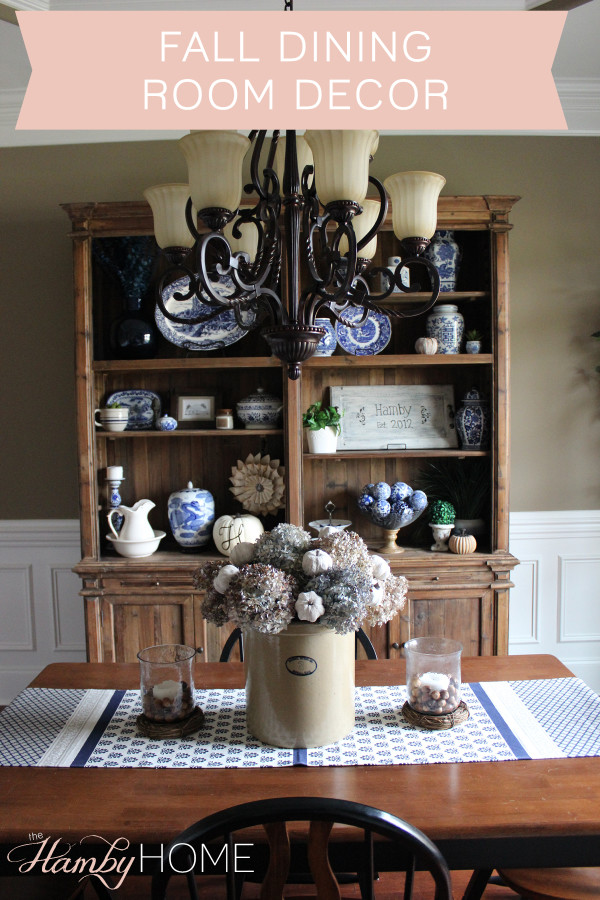 21 Easy Unexpected Living Room Decorating Ideas: Simple Fall Dining Room Decor
