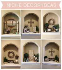 How To Decorate An Alcove In A Wall. Niche Decor Ideas The ...