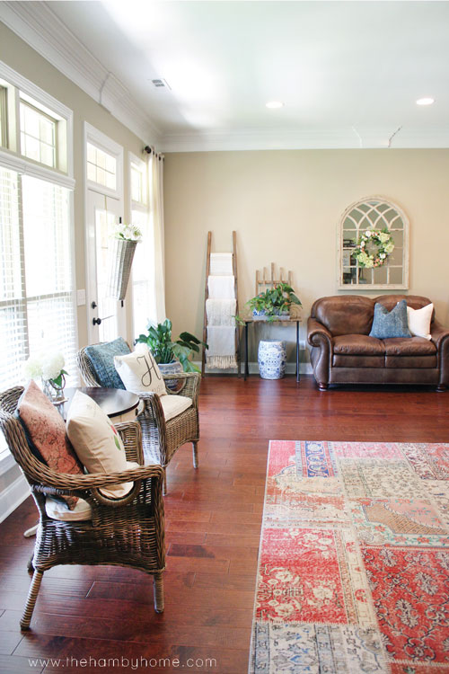 Summer Living Room Refresh The Hamby Home