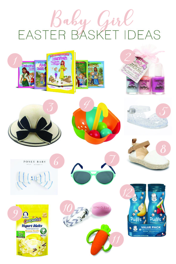 Baby girl easter basket ideas the hamby home bible belles books ive talked about these books a few times before but theyre current days stories that teach lessons like prayer patience negle Choice Image
