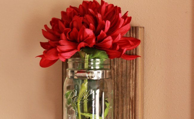 Diy Mason Jar Wall Decor The Hamby Home