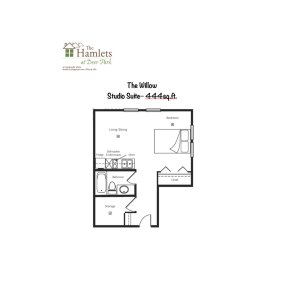 Studio Suite Floorplan