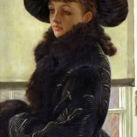 Kathleen Newton by James Tissot:  eight auctioned oil paintings