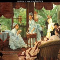 James Tissot's Fashion Plates (1864-1878):  A Guest Post for Mimi Matthews by Lucy Paquette