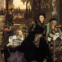 James Tissot's Mourners at Auction