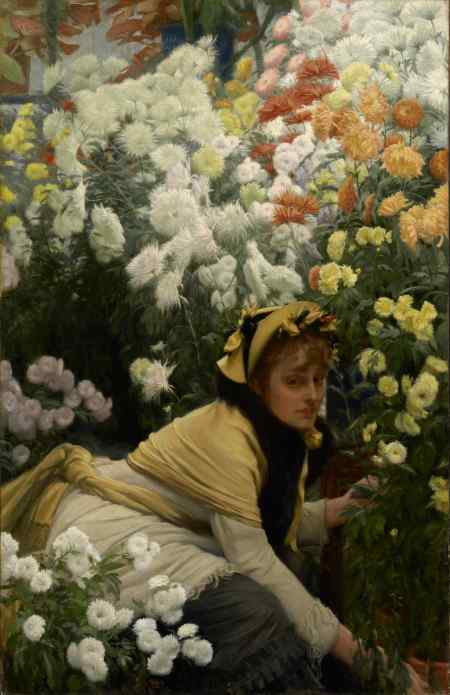James_Tissot_-_Chrysanthemums