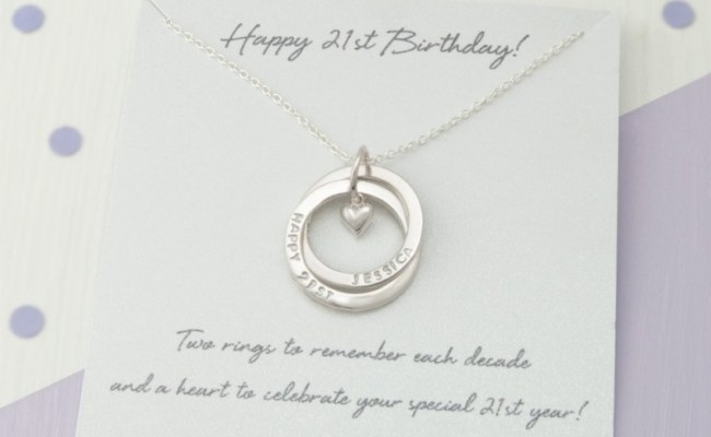 Personalised 21st Birthday Gift For Her Personalized 21st