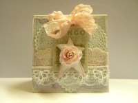 Shabby Chic Easel Card