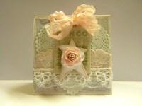 Shabby Chic Easel Card | The Handmade Card Blog