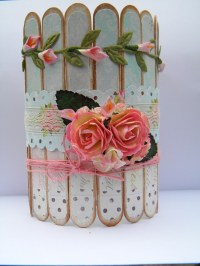 Shabby Chic Container for my Paint Brushes | The Handmade ...
