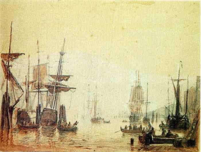 AF_Vollmer_Hamburger_Hafen_1840 wikicommons