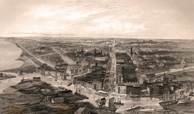 Buffalo, NY 1855 The Ladies Depository vol 15