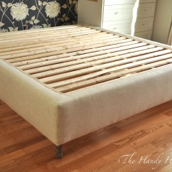 Sofa Frames For Upholstery Chaise Gumtree Perth Upholstered Bed Frame Diy Part 1 Bedframe