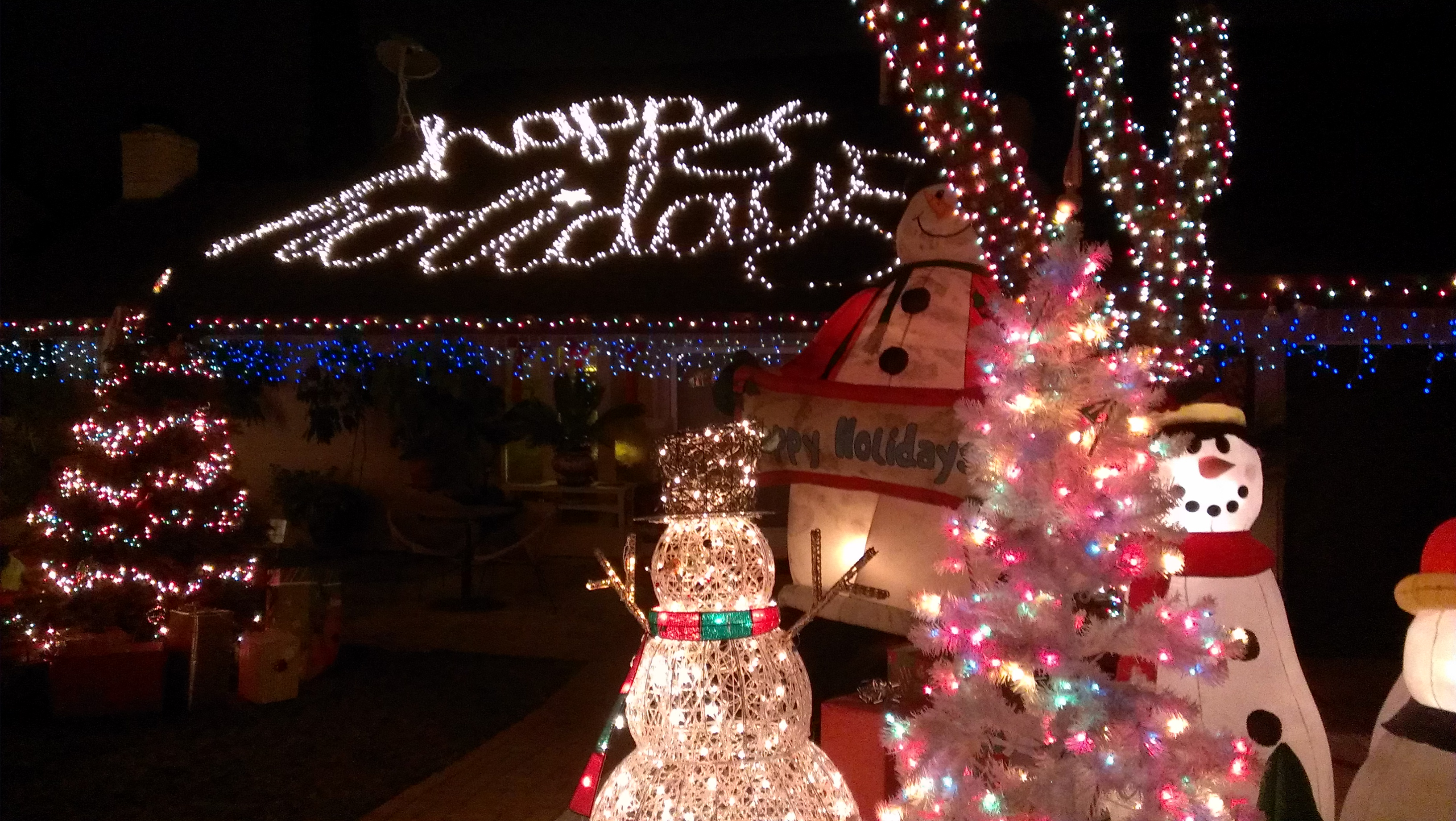 corona candy cane lane - Chino Christmas Lights