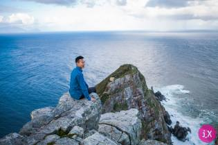 Sitting on the edge of the world