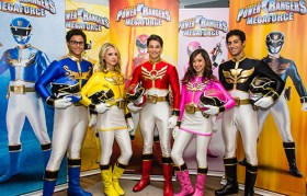Power Rangers MegaForce Cast