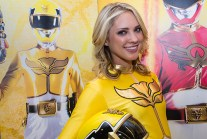Power Ranger MegaForce Yellow
