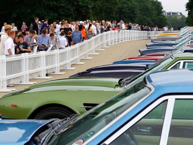 Aston Martin celebra su primer centenario