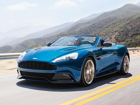 Aston Martin presenta el primer convertible de fibra de carbono