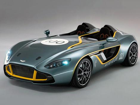 La celebración del centenario de Aston Martin