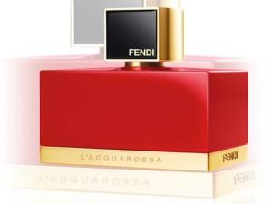Fendi presenta su nueva esencia: L'Acquarossa