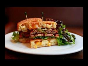Una hamburguesa inimaginable