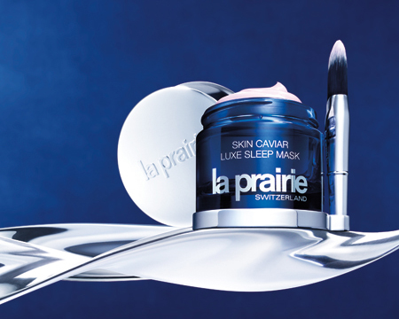 Un ritual de belleza nocturno con La Prairie