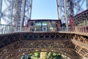 El nuevo primer piso de la Torre Eiffel